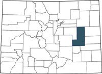 Find Lincoln County, Colorado on a map.
