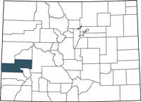 Find Montrose County, Colorado on a map.