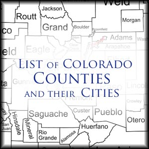 Colorado Counties and Cities | Denver Sex Crimes Lawyer