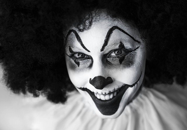 A clown was accused of Unlawful Sexual Contact after grabbing two women's breasts while scaring them at a haunted barn. Read more about it here.
